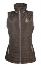 HKM LAURIA GARRELLI QUEENS - GILET - BROWN- SALE